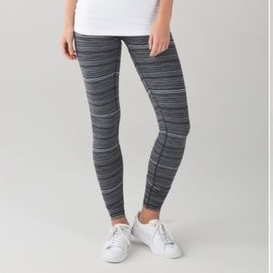 Lululemon Cyber Stripe Leggings Black Size 4